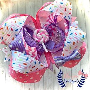 🎉HOST PICK | Girls Lollipop Boutique Hairbow 🍭